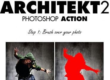 Architekt 2 Photoshop Action