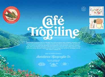 Tropiline Font