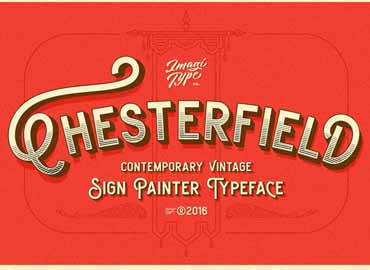 Chesterfield Typeface Font