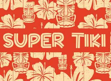 Super Tiki font