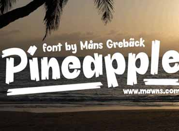 Pineapple Demo Font
