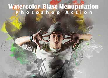 Watercolor Blast Manipulation