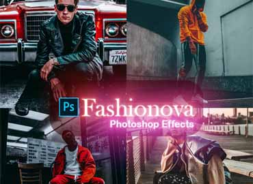 Fashionova Photoshop Effects