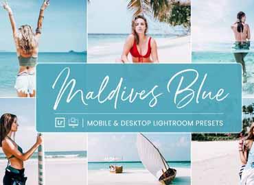 Lightroom Presets Maldives Blue