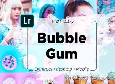 Lightroom Preset, Bubble Gum, Mobile