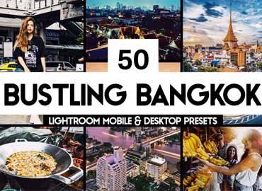 50 Bangkok Lightroom Presets & LUTs