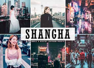 Shanghai Lightroom Presets Pack