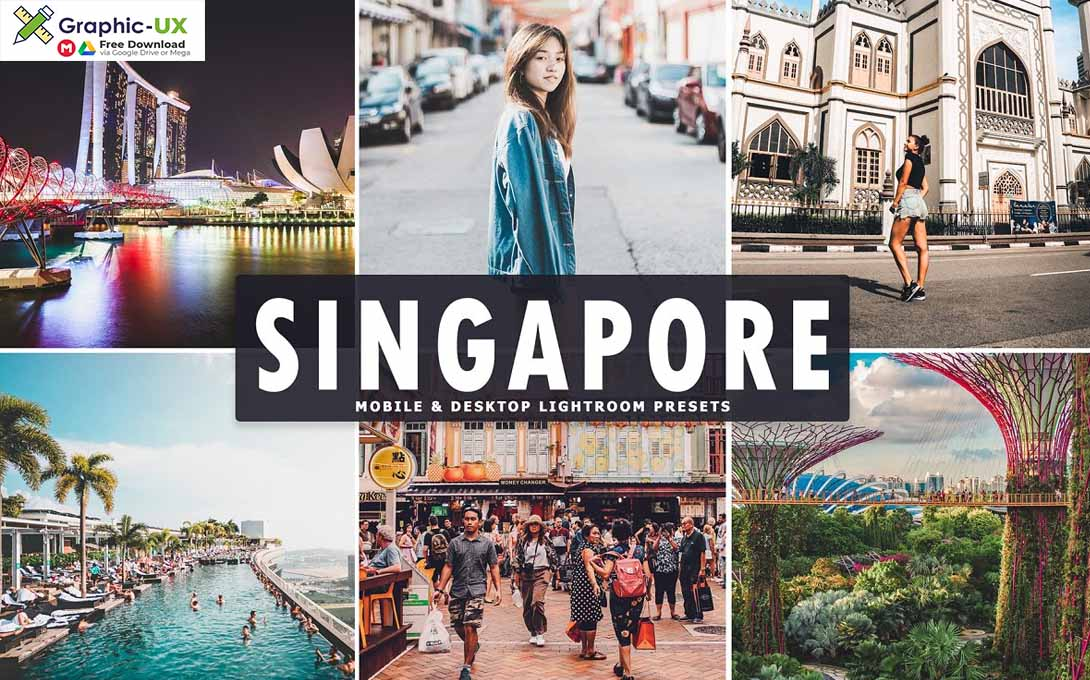 Singapore Lightroom Presets Pack