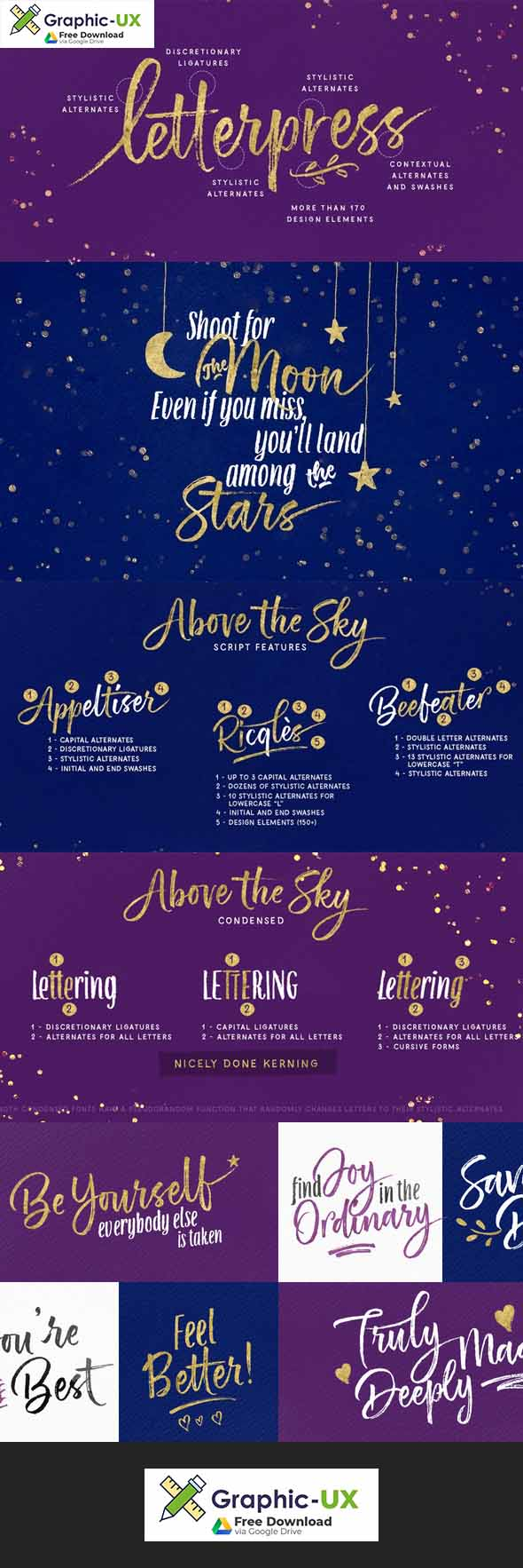 Above the Sky Font free