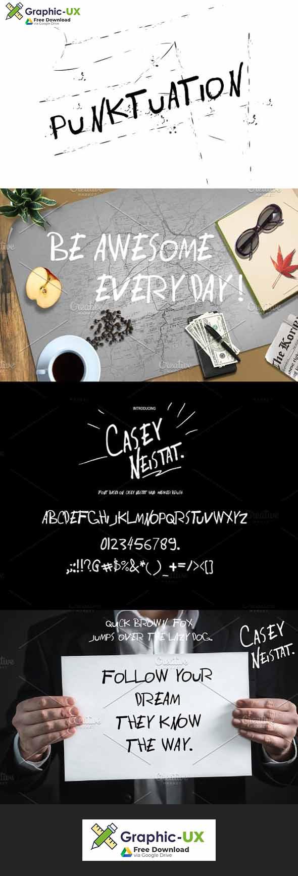 Casey Neistat Font