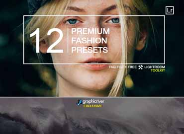 12 Premium Fashion Presets