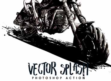 Vector Splash - Photoshop Action