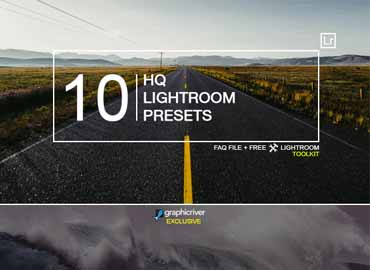 10 HQ Lightroom Presets