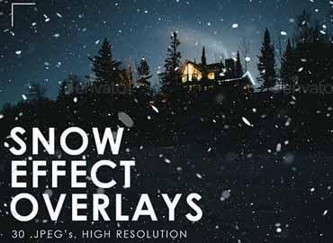 Snow Effect Overlays