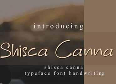Shisca Canna Font