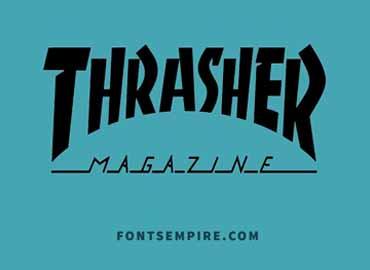 Thrasher Font