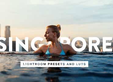 50 Singapore Lightroom Presets LUTs