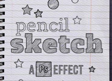 Pencil Sketch for Photoshop