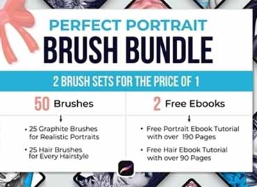 Perfect Portrait Brush Bundle