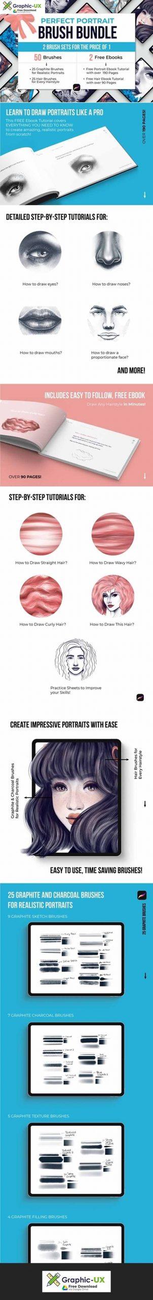Perfect Portrait Brush Bundle