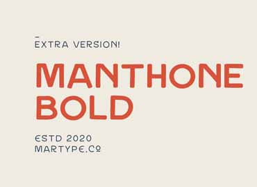 Manthone Bold