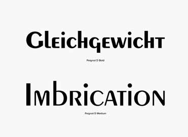 Peignot Font Family