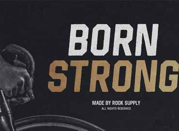 Born Strong Font Family