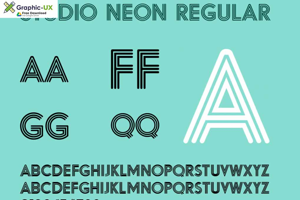 Studio Neon Font