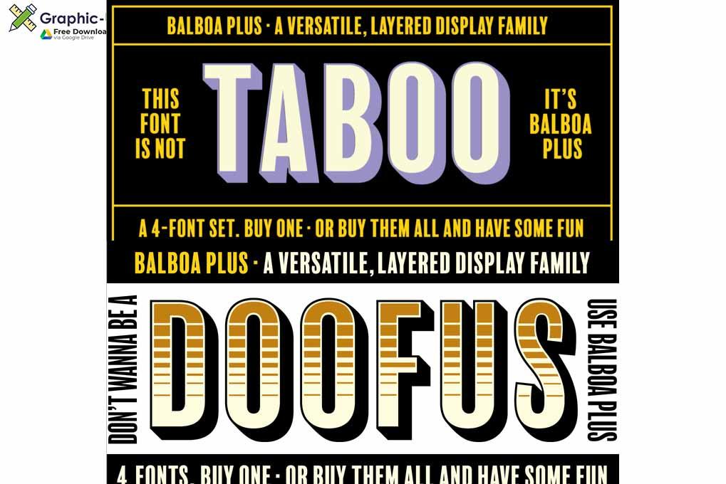 Balboa Font