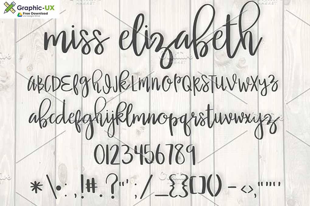 Miss Elizabeth Font