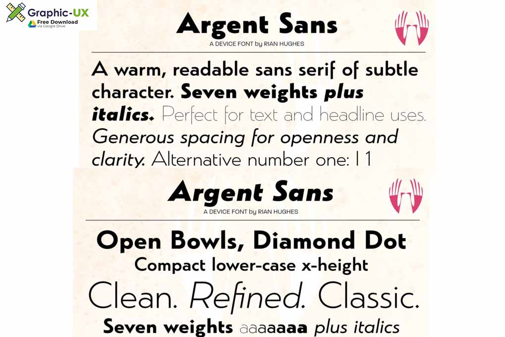 Argent Font Free