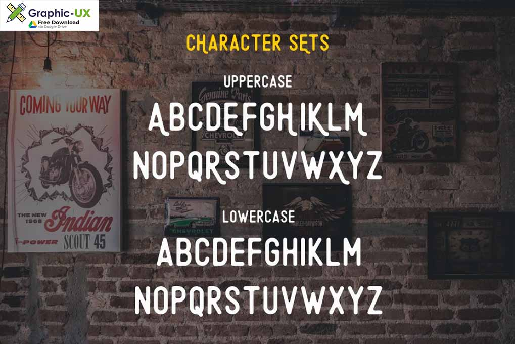 Minimalist Font