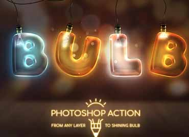 Light Bulb - Photoshop Action