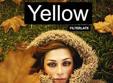Yellow Photoshop Actions