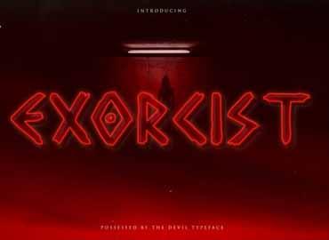 Exorcist Font