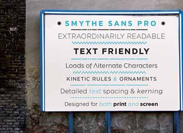 SmytheSans Font
