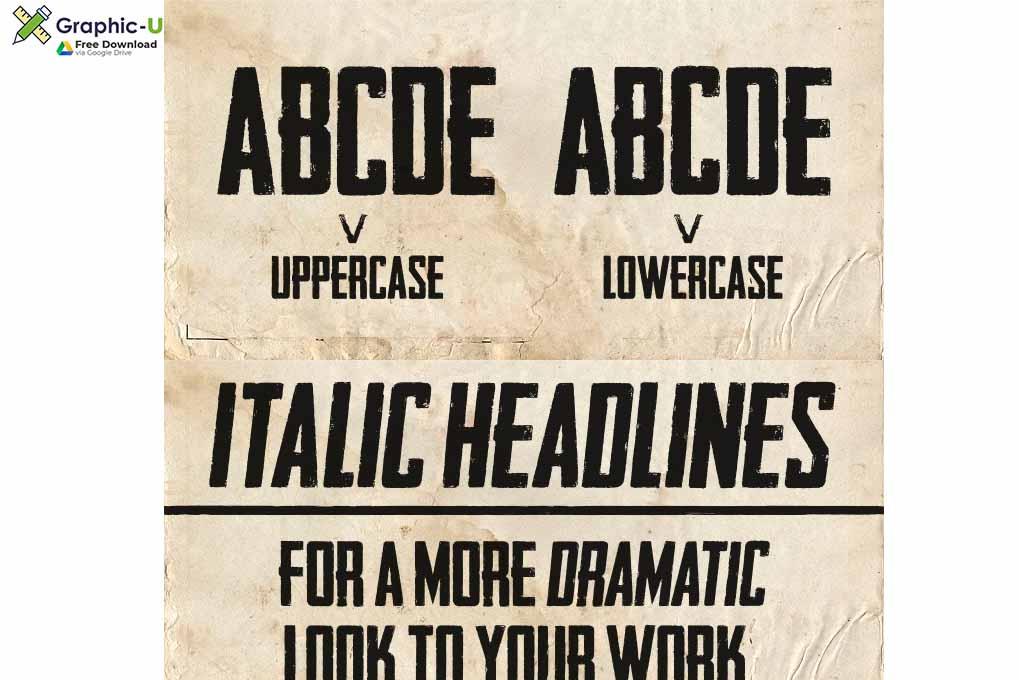 Headliner 45 Font