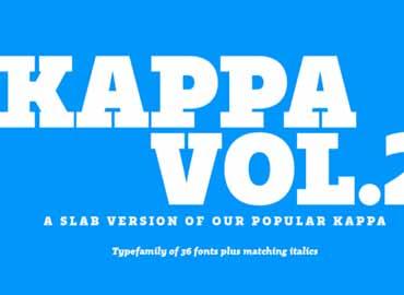Kappa Font
