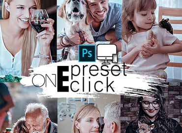 One Click Photoshop Action