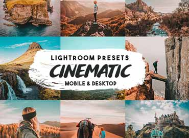 Cinematic insta Lightroom Presets