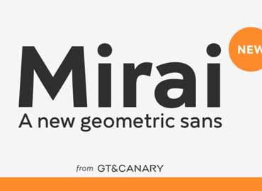 Mirai Font