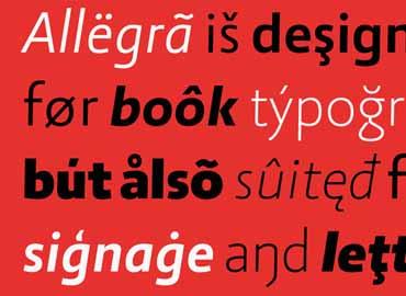 Allegra Font
