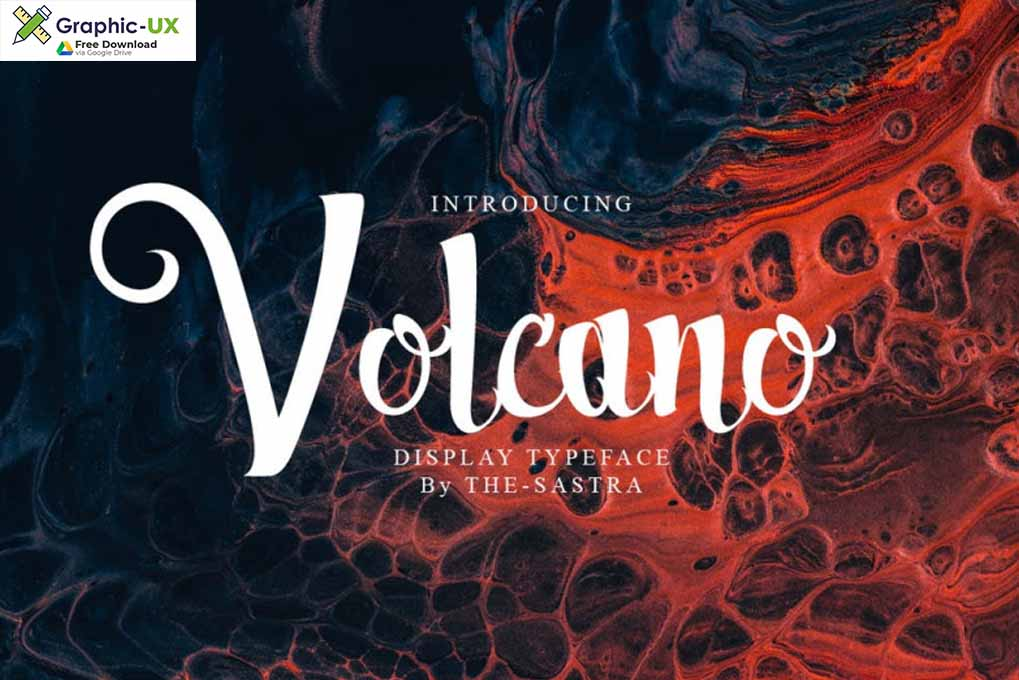 Volcano Font