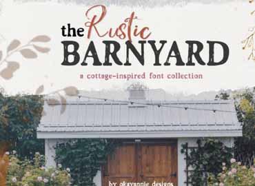 Barnyard Font