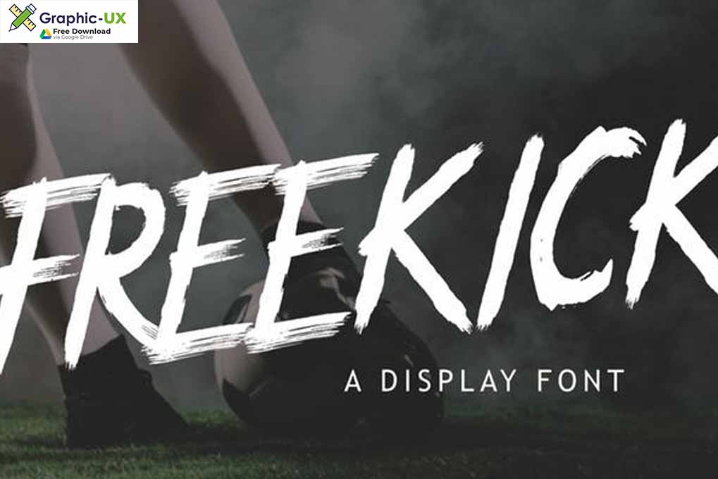 Freekick - Sport Display Font