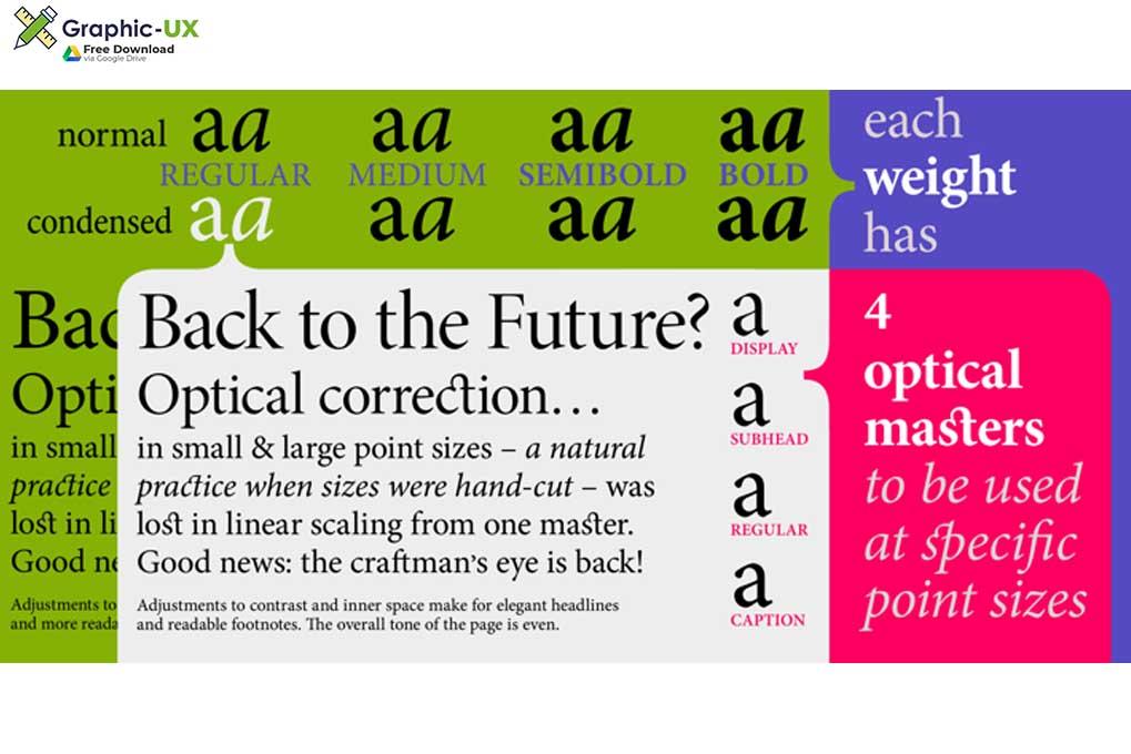 Minion Pro Font Free