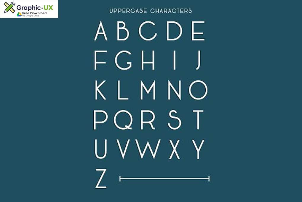 Art Deco Font Free