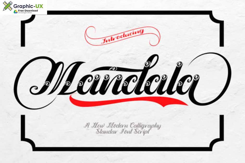 Mandala Font