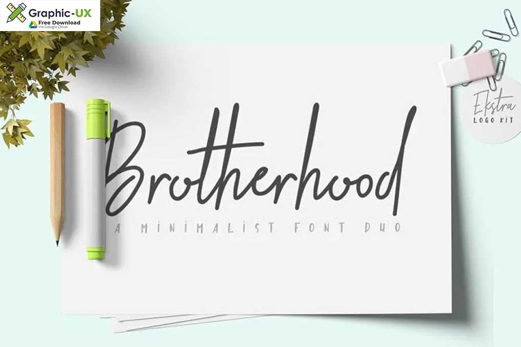 Brotherhood Regular Font