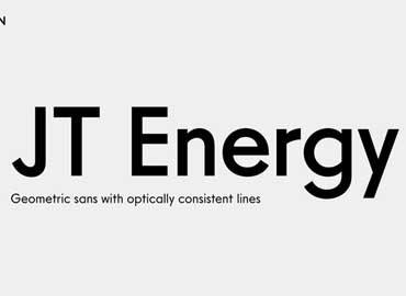 JT Energy Font